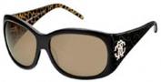 Roberto Cavalli RC466S Sunglasses Sunglasses - O05J Black Leopard