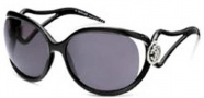 Roberto Cavalli RC468S Sunglasses Sunglasses - O05A Black - Gradient Silver