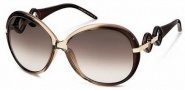 Roberto Cavalli RC519S Sunglasses Sunglasses - O47F Transparent Brown