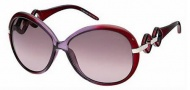 Roberto Cavalli RC519S Sunglasses Sunglasses - O81Z Transparent Purple