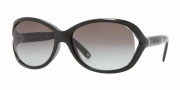 Versace VE4186 Sunglasses Sunglasses - GB1/11 Shiny Black / Gray Gradient