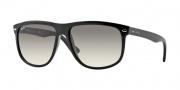 Ray Ban 4147 Sunglasses Sunglasses - 601/32 Black / Crystal Gray Gradient