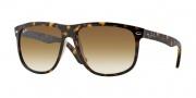 Ray Ban 4147 Sunglasses Sunglasses - 710/51 Light Havana / Crystal Brown Gradient