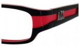 Armani Exchange 211 Eyeglasses Eyeglasses - 0JBB Black Red