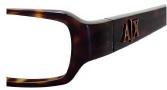 Armani Exchange 215 Eyeglasses Eyeglasses - 0086 Dark Havana