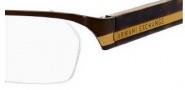 Armani Exchange 219 Eyeglasses Eyeglasses - 0N6P Brown Havana Honey