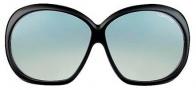 Tom Ford FT0120 Natalia Sunglasses Sunglasses - O01B Shiny Black