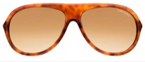 Tom Ford FT0134 Rodrigo Sunglasses Sunglasses - O53F Light Havana / Gold