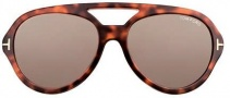 Tom Ford FT0141 Henri Sunglasses Sunglasses - O52J Shiny Dark Havana