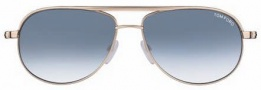 Tom Ford FT0143 Mathias Sunglasses Sunglasses - O28B Shiny Rose Gold