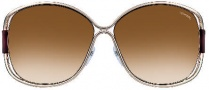 Tom Ford FT0155 Sunglasses Sunglasses - O28F Shiny Rose Gold