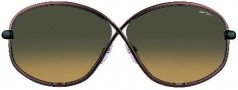 Tom Ford FT0160 Brigitte Sunglasses Sunglasses - O36P Shiny Bronze