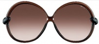 Tom Ford FT0164 Nicole Sunglasses Sunglasses - O48F Shiny Brown