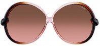 Tom Ford FT0164 Nicole Sunglasses Sunglasses - O98F Rose Brown
