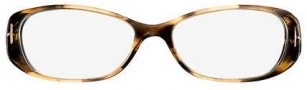 Tom Ford FT5075 Eyeglasses Eyeglasses - OU45 Brown / Yellow