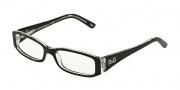 D&G DD1179 Eyeglasses Eyeglasses - 675 Black Top on Clear