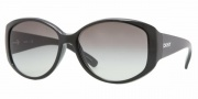 DKNY DY4063 Sunglasses Sunglasses - (329011) Black / Gray Gradient