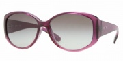 DKNY DY4063 Sunglasses Sunglasses - (338111) Violet Gradient-Pink / Gray Gradient
