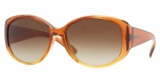 DKNY DY4063 Sunglasses Sunglasses - (343513) Brown Gradient Yellow / Brown Gradient