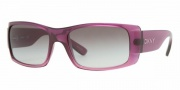 DKNY DY4064 Sunglasses Sunglasses - (338111) Violet Gradient-Pink / Gray Gradient