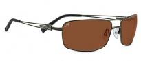 Serengeti Dante Sunglasses Sunglasses - 7888 Shiny Dark Gunmetal / Drivers Lens