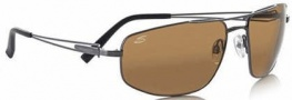 Serengeti Augusto Sunglasses Sunglasses - 7116 Shiny Gunmetal / Polarized Drivers