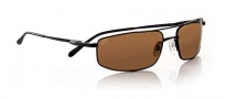 Serengeti Lamone Sunglasses Sunglasses - 6990 Satin Black / Polarized Drivers