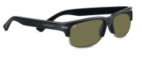 Serengeti Vasio Sunglasses Sunglasses - 7373 Shiny Black / Polarized 555nm