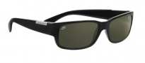 Serengeti Merano Sunglasses Sunglasses - 7238  Shiny Black / Polarized Drivers