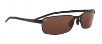 Serengeti Vento Sunglasses Sunglasses - 7298 Satin Black / Polarized 555nm