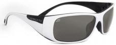 Serengeti Larino Sunglasses Sunglasses - 7393 Shiny White-Black / Polar PhD CPG