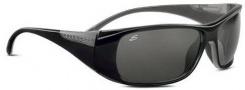 Serengeti Larino Sunglasses Sunglasses - 7390 Shiny Black-Gray / Polar PhD Drivers