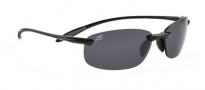 Serengeti Nuvola Sunglasses Sunglasses - 7359 Shiny Black / Polar PhD CPG