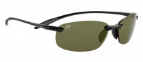 Serengeti Nuvola Sunglasses Sunglasses - 7718 Shiny Black / Polar Phd 555nm
