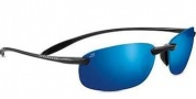 Serengeti Nuvola Sunglasses Sunglasses - 8129 Metallic Black / Polarized Phd 555nm Blue