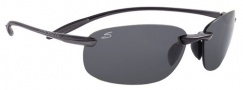 Serengeti Nuvino Sunglasses Sunglasses - 7319 Black / Hematite Polar PHD