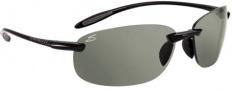 Serengeti Nuvino Sunglasses Sunglasses - 7318 Shiny Black / Polar PhD CPG