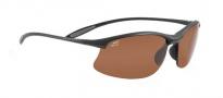 Serengeti Maestrale Sunglasses Sunglasses - 7356 Satin Black / Polar PhD Drivers