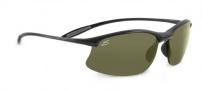 Serengeti Maestrale Sunglasses Sunglasses - 7712 Shiny Black / Polar Phd 555nm