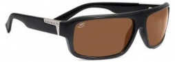 Serngeti Matteo Sunglasses Sunglasses - 7370 Shiny Black / Polarized Drivers