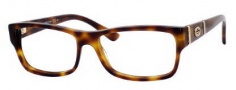 Gucci GG 3133 Eyeglasses Eyeglasses - 005L Havana