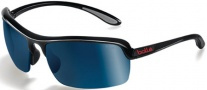 Bolle Dash Sunglasses Sunglasses - 11248 Shiny Black / Polarized GB-10