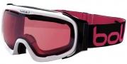 Bolle Fathom Goggle  Goggles - 20545 Shiny White / Modulator Vermillon