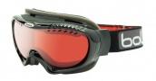 Bolle Simmer Goggles Goggles - 20442 Shiny Black Vermillon Gun