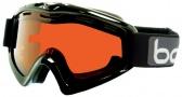 Bolle X9 OTG Goggles Goggles - 20186 Shiny Black / Citrus