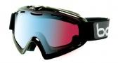 Bolle X9 OTG Goggles Goggles - 20849 Shiny Black / Modulator Vermillion Blue