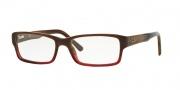 Ray Ban RX5169 Eyeglasses Eyeglasses - 5541 Brown Horn Gradient Transparent Bordeaux