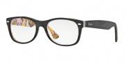 Ray-Ban RX 5184 New Wayfarer Eyeglasses Eyeglasses - 5409 Top Havana