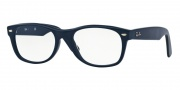Ray-Ban RX 5184 New Wayfarer Eyeglasses Eyeglasses - 5583 Sand Blue