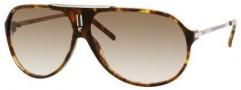 Carrera Hot/S Sunglasses Sunglasses - 0C03 Green Havana-Silver / 02 Brown Gradient Lens